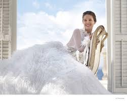 Pronovia Wedding Dresses Pronovias 2015 Wedding Dresses Campaign With Emily Didonato