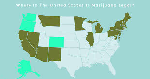 Colorado Marijuana Dispensary Map by Where Is Weed Legal Recreational Weed States