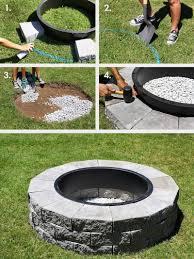 Block Firepit Stupendous Build Your Own Concrete Block Firepit Diy Firepit Ideas