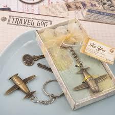 keychain wedding favors airplane key chain wedding favors