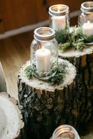 decorations with jars for a wedding 7302