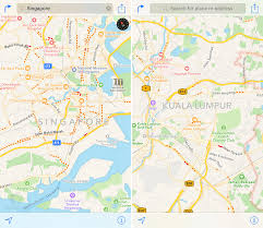 Singapore Map Asia by Apple Maps Traffic Data Expands To Singapore And Malaysia Mac Rumors