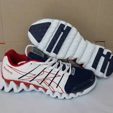 Jual Reebok Ori reebok zigtech putih merah sepatu sport grosir