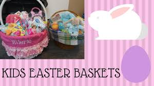kids easter basket ideas easter 2017 youtube