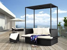 Outdoor Daybed With Canopy Daybeds Marvelous Round Outdoor Daybed With Canopy Wicker Patio