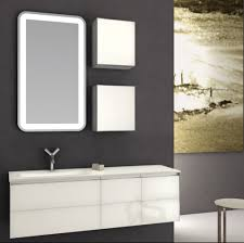bathroom accent cabinet black accent wall with glossy white finished vanity cabinet and