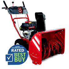snow blowers black friday shop troy bilt storm 2410 24 in two stage push button electric