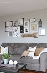 Family Room Gallery Wall - Family room photo gallery