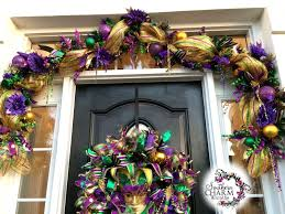 mardi gras tree decorations decorate your door for mardi gras