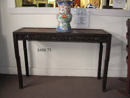 rosewood tall end table coffee brown lot 322 chinese table jpg