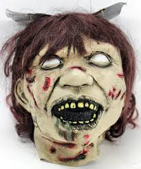 linda blair authentic signed the exorcist mask autographed in
