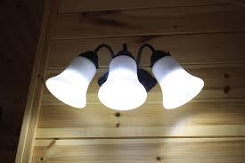 240 Volt Led Light Bulbs by 12v Led Lights Cabin Install Offgridcabin
