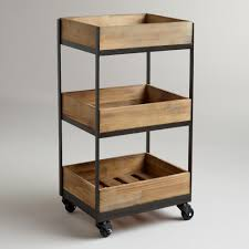 Bathroom Storage Cart 3 Shelf Wooden Gavin Rolling Cart Don T You It I No
