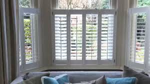 cafe style bay shutters fitted in winchester youtube