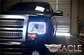 2012 ford f150 projector headlights 2009 2014 f150 svt raptor oracle led headlight halo kit 2300