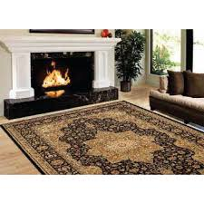 Home Depot Area Carpets Home Dynamix Majestic Black 9 Ft 2 In X 12 Ft 5 In Area Rug 10