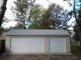 modern garage builders 3 car reverse gable garage macedonia ohio