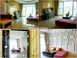 riverside residence apartment for rent with furniture at
