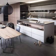 cuisine bois laqu cuisine bois et blanc laqu fabulous beautiful cuisine home