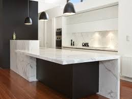 Modern Kitchens With Islands by Modern Magnificence 80mm Thick Huge Marble Island 4700 X 1200