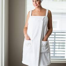 luin spa spa dress white
