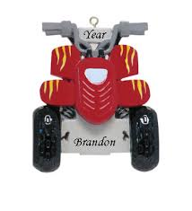atv personalized ornament