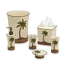 Palm Tree Bathroom Accessories by Image Of Tommy Bahama Island Song Bath Ensemble Palm Tree