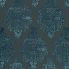 Turquoise Velvet Fabric Upholstery Peacock Blue Velvet Damask Upholstery Fabric Modern Charcoal