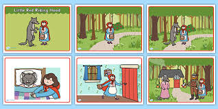 red riding hood story sequencing red riding