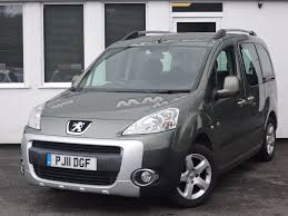 used grey peugeot partner tepee for sale cheshire