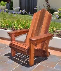 Redwood Adirondack Chair Redwood Adirondack Chairs Redwood Folding Adirondack Chair With