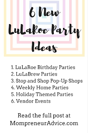 direct sales companies home decor here u0027s 6 new lularoe party ideas mompreneur advice