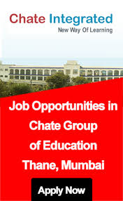 Chate by Job Opportunities In Chate Group Of Education Mumbai Maharashtra