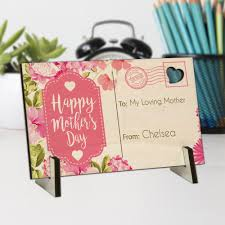 s day personalized gifts personalized gifts happy s day wood postcard shop now