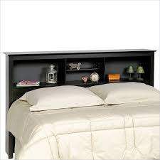 twin xl platform bed with bookcase headboard u0026 3 storage drawers