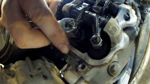 can am atv sxs valve adjustment how to youtube