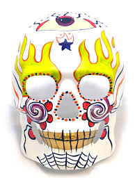Day Of The Dead Masks Terrifying Day Of The Dead Masks Scaridari Time