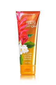 amazon com bath u0026 body works white tea and ginger shower gel 10