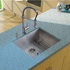 Vigo Stainless Steel Faucet All In One 23