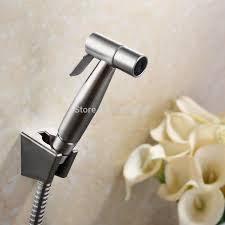 stainless steel thermostatic bidet faucets mixers taps hand held