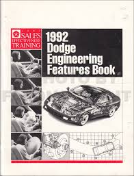 1992 dodge dakota repair shop manual original