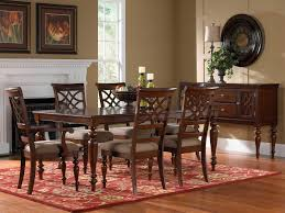 Set Dining Room Table by Standard Furniture Woodmont Leg Table Set W 18