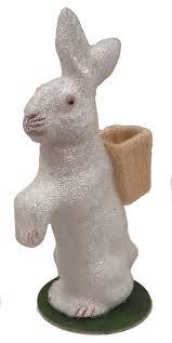 paper mache easter bunny pinnaclepeak german paper mache beaded easter bunny rabbit with