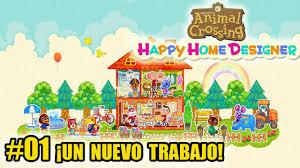 animal crossing happy home designer 01 bienvenido a tu nuevo