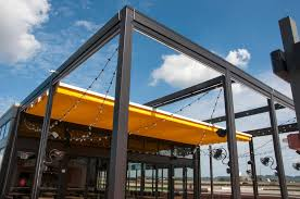 retractable roof systems and pergolas shade fla