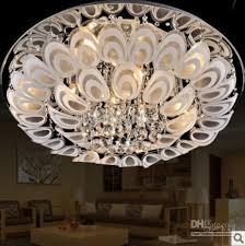 Best Place To Buy Ceiling Lights 60cm Modern Led K9 Flushmount Ceiling Lighting L