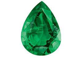 emerald drop drop cut greenbewitch certified emeralds