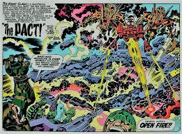 Mobius Chair Dave U0027s Comic Heroes Blog Jack Kirby Beginning The New Gods