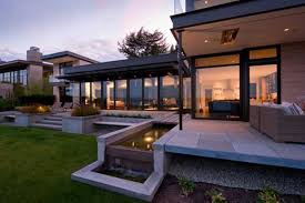 Interior Modern House Design Large Modern House Design With Water Features Inspired By Water