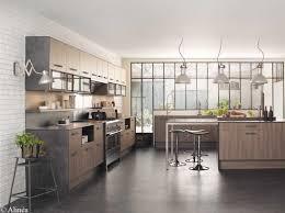 meuble de cuisine style industriel charmant meuble haut vitre cuisine galerie avec cuisine style